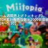 ゲーム週間売上げランキング ミートピア 評判