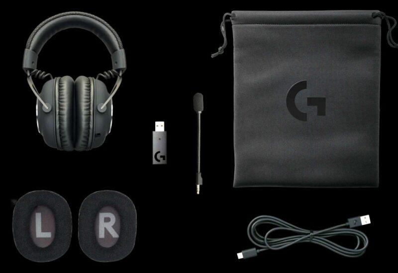 Logicool G PRO X Wireless パッケージ内容